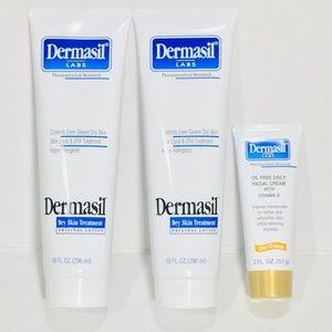 Dermasil • Dry Skin Treatment & Daily Facial Cream